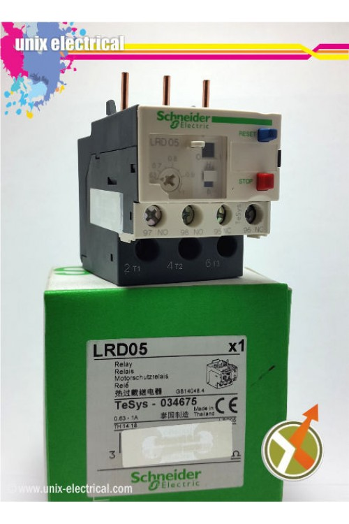 Thermal Overload Relay LRD05 Schneider Electric