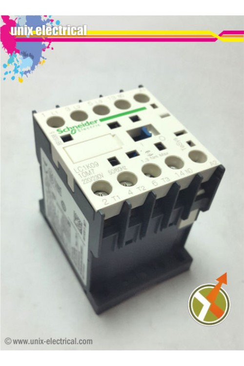 Magnetic Contactor 3P LC1K1201 Series Schneider Electric