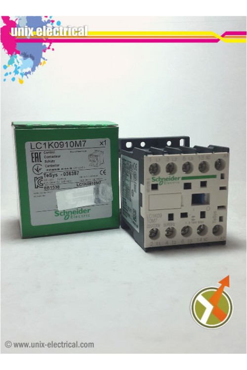 Magnetic Contactor 3P LC1K1210 Series Schneider Electric