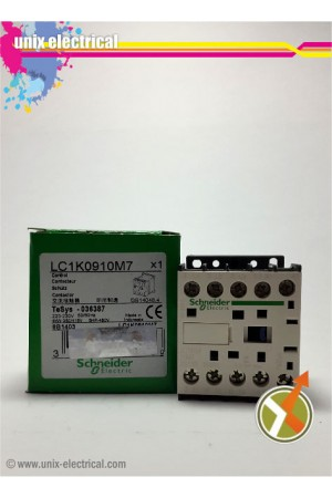 Magnetic Contactor 3P LC1K0910 Series Schneider Electric