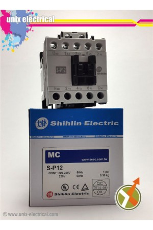 Magnetic Contactor 3P S-P12 Shihlin Electric