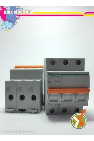 MCB 3 Phase Domae Series Schneider Electric