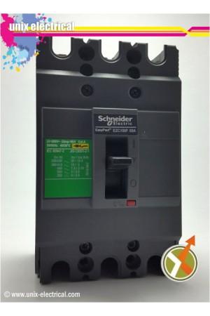 MCCB 3P EZC100F Series Schneider Electric