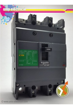 MCCB 3P EZC250F Schneider Electric