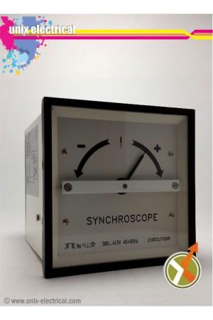 Sinkronoskop Meter Analog Circutor