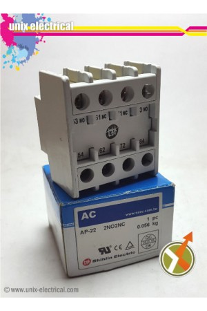 Auxiliary Contact AP-22 Shihlin Electric