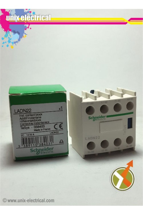 Auxiliary Contact LADN22 Schneider Electric