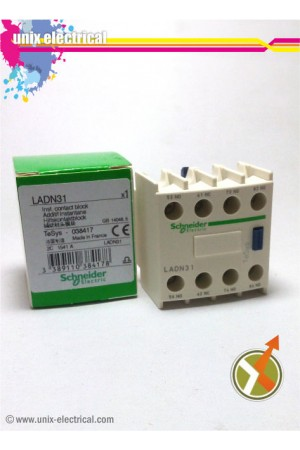 Auxiliary Contact LADN31 Schneider Electric