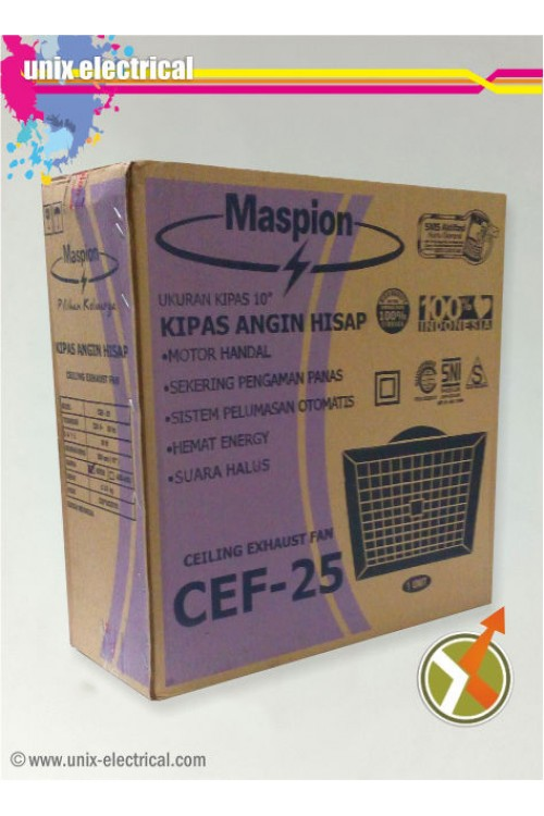 Ceiling Exhaust Fan CEF-25 Maspion
