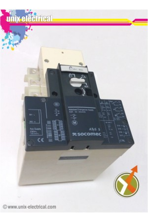 Change Over Switch 4P Motorized ATYS-S DC12V Socomec