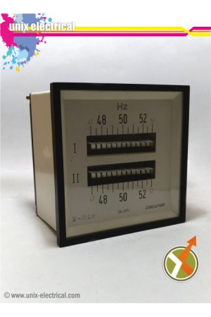 Double Frequecy Meter Analog GAE
