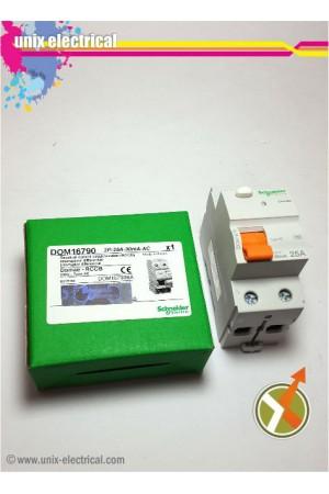 ELCB / RCCB 2P 300mA Domae Schneider Electric
