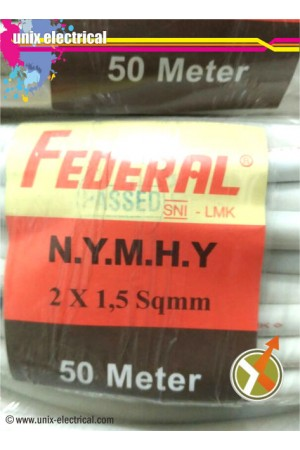 Kabel NYMHY 2x1.5mm Federal