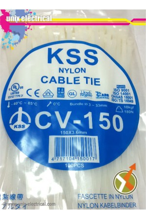 Cable Ties CV-150 KSS