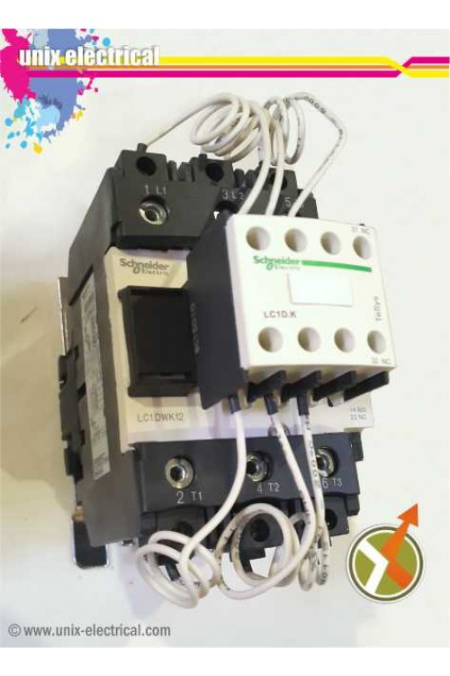 Kontaktor Kapasitor LC1DPKM7 Schneider Electric