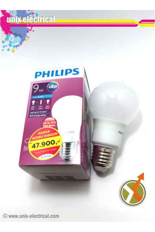 Lampu LED Bulb 9W Philips
