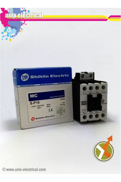 Magnetic Contactor 3P S-P15 Shihlin Electric