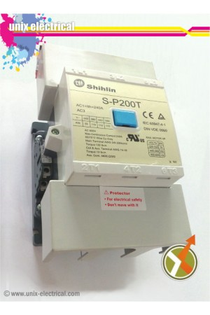 Magnetic Contactor 3P S-P200T 110kW Shihlin Electric