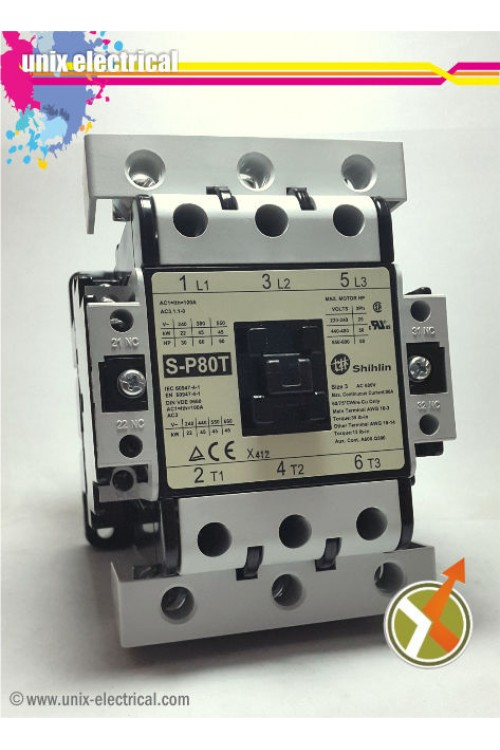Magnetic Contactor 3P S-P80T Shihlin Electric