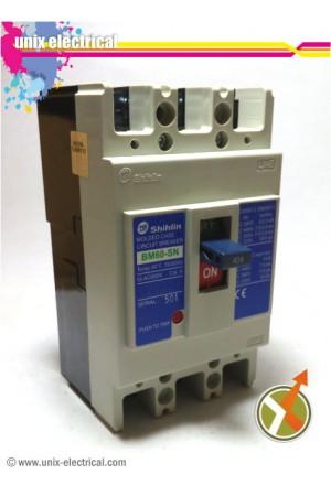MCCB BM60SN Series Shihlin Electric