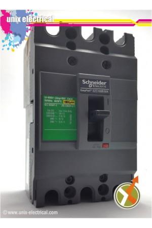 MCCB 3P EZC100B Series Schneider Electric