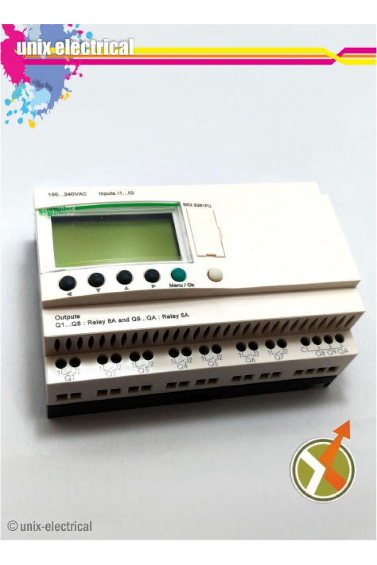 Smart Relay Zelio Logic Sr3b261fu Schneider New Electric Zelior Solidstate Relays