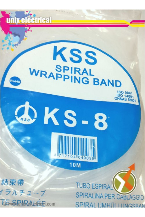Spiral Cable Wrap KS-8 KSS