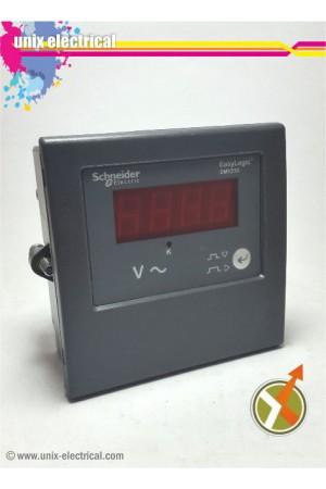 Voltmeter Digital 1P DM1210 Schneider