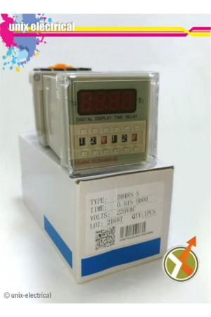 Timer Digital DH48S-S Twin Timer