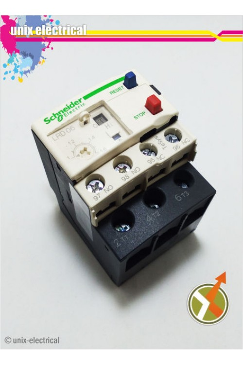 Thermal Overload Relay LRD06 Schneider Electric
