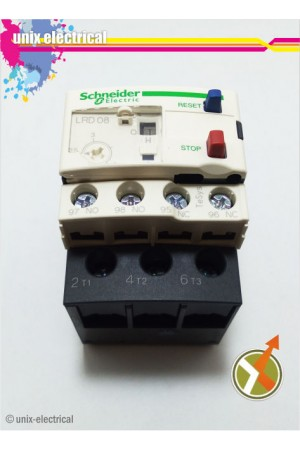 Thermal Overload Relay LRD08 Schneider Electric