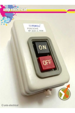 Push Button PS830AE 30A Powell